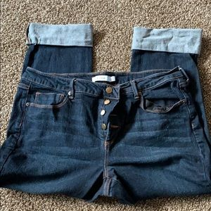 Just Fab Women's Roll Jeans 14